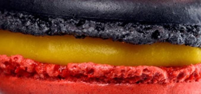 Un macaron aux couleurs de la Belgique