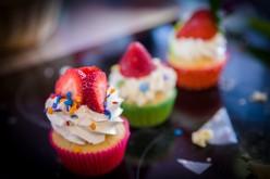 Histoires de fraises, et cupcakes à la fraise