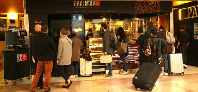 Sushi Daily ouvre à la Gare Montparnasse