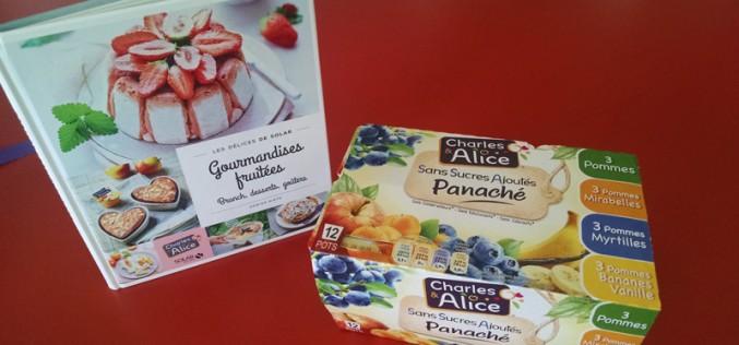 """Livre """"Gourmandises fruitées"""" : des desserts avec des desserts"""