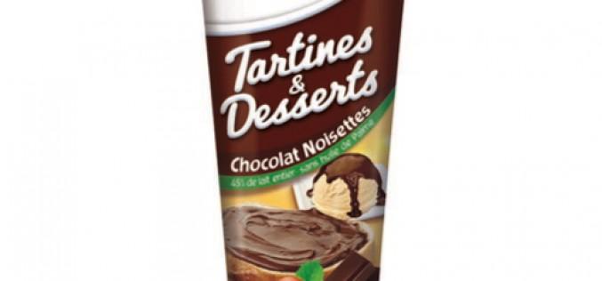 Régilait chocolat noisettes : l'ami des desserts