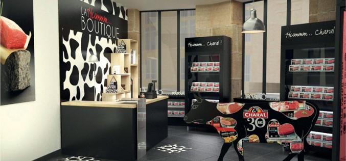 Charal ouvre sa boutique éphémère, repère des carnivores