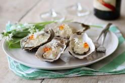 Recette de fête : Huîtres normandes en gelée de champagne