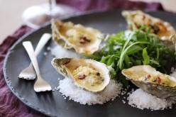 Recette de fête : huîtres gratinées à la crème de cidre