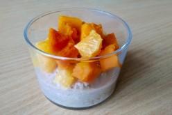 Pudding express d'Halloween orange et citrouille
