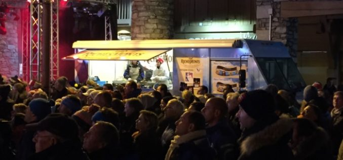 Raclette : food truck RichesMonts 2016