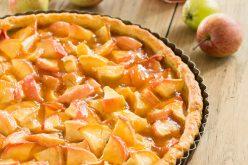 Recette simple : tarte aux pommes à la gelée de Coings
