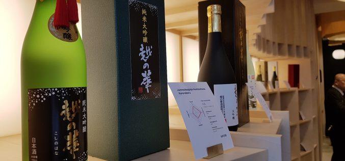 Inauguration de la boutique Kinasé : le Paris du saké (vidéo)