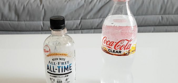 Coca-Cola Clear, All Free All Time : découverte de deux boissons transparentes