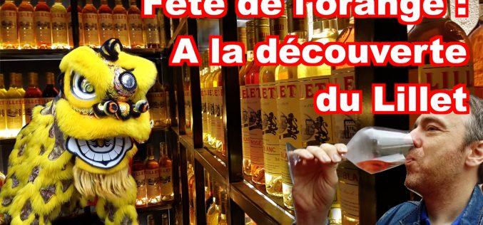 Fête de l'orange 2019 et Lillet à Podensac (vidéo)