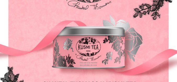 Kusmi Tea et Chantal Thomass : thé évènement et au grand coeur