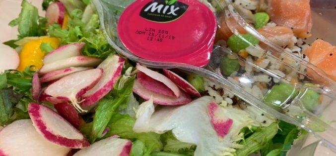 """Mix propose ses salades et """"Poké Bol"""" de saison"""